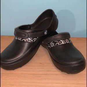 Crocs Black Clogs Size 7